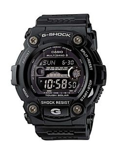 Cool Stuff: Casio G-Shock Solar Sport Watch (Model. - Cool Stuff: Casio G-Shock Solar Sport Watch (Model the multifunctional Casio Men's G-Shock Solar Atomic Black Digital Sport Watch, you'll finally be able to mix business with a little. Casio G-shock, Casio Watch, Casio G Shock Watches, Sport Watches, Cool Watches, Watches For Men, Men's Watches, Black Watches, Wrist Watches