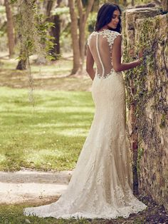 Maggie Sottero Wedding Dress Nori 8MS529 Back