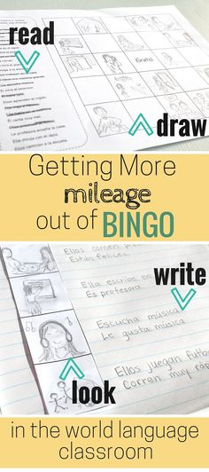 Bingo in the World Language Classroom. Ideas for using this classic games for reading, listening, and writing activities.