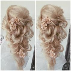 Hair Styles Ideas :   Illustration   Description   There are so many varieties of bridal hairstyles for long hair! Here are the latest looks with ravishing updos, downdos and half up, half down styles for curly, wavy, straight and black hair, as well as ideas on how to.    -Read More –   - #Hairstyle
