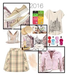"""Untitled #143"" by pretty0329 ❤ liked on Polyvore featuring Banana Republic, Delpozo, Converse, Jane Iredale, MDMflow, Gucci, Casadei, FRACOMINA and Eve Lom"
