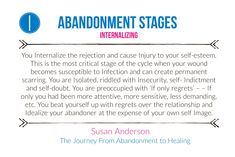 Abandonment stages - best book 📖 the journey from abandonment to healing Abandonment Quotes, Narcissist Quotes, The Ugly Truth, Mental Health Matters, Bpd, Narcissistic Abuse, Domestic Violence, Insecure, Self Esteem
