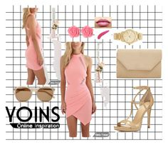 """""""Yoins"""" by besirovic ❤ liked on Polyvore featuring MICHAEL Michael Kors, Halogen, Yves Saint Laurent, Dollydagger, Michael Kors, TheBalm and yoins"""