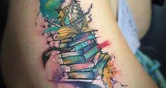 book tattoo - Pesquisa Google