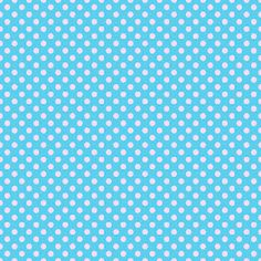 Blue and pink polka dot digital scrapbook paper {free downloads!}