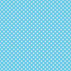 Blue and pink polka dot digital scrapbook paper {free downloads!}