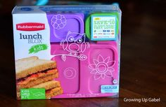 Pack a Bento Lunch Box with Rubbermaid Lunch Blox for Kids #bts #lunch