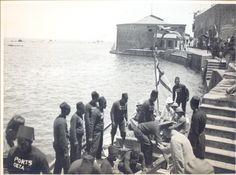 Landing at Jaffa [1/7/1920]