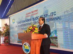 Cho thuê nhà bạt không gian-Khánh thành cảng container SP-ITC