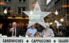 Cappuccino Culture Threatens Traditional British Breakfast