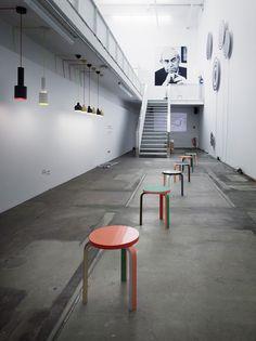 Architectural concept for Artek done by German designer and artist Mike Meiré.