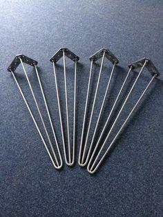 """Tischbeine+""""hairpin+leg""""+70+cm+(60cm-74cm)++von+Blechmacher+auf+DaWanda.com"""