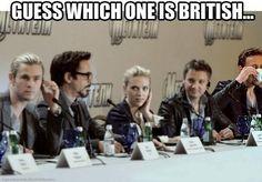 LOL - Find the British guy