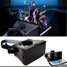 Universal Virtual Reality 3D Video Glasses For iPhone Smartphone * More info could be found at the image url.Note:It is affiliate link to Amazon.