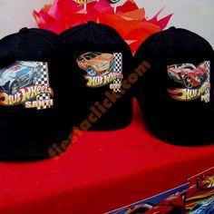 Hotwheels gorras personalizadas