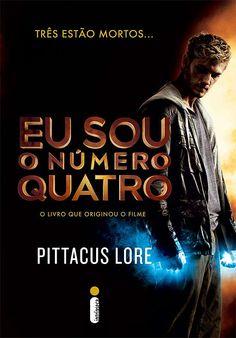 livro, eu sou o numero quatro, pittacus lore,