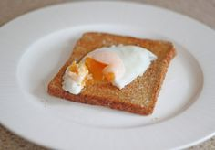 Egg and toast.
