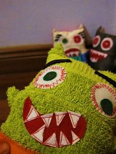 Monster Softies - follow link for free tutorial