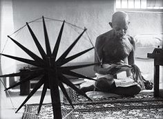 Gandhi and the Spinning Wheel