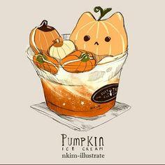 Pumpkin Ice cream | Suit & Tie Cafe