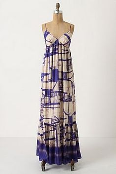 This Anthropology maxi needs to be added to my collection