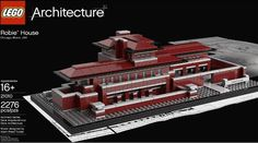 Lego to Immortalize Frank Lloyd Wright's Robie House