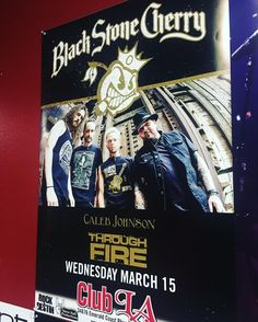 Happening tonight in #destinflorida Come hang \m/ <3 \m/ #rocknroll #tour #blackstonecherry #throughfire