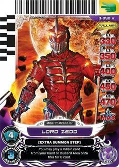 Lord Zedd power card