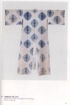 Kimono. Shibori. (love this pattern)
