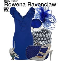 Inspired by Hogwarts house founder Rowena Ravenclaw from the Harry Potter franchise