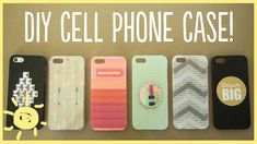 DIY | Cell Phone Case | WhatsUpMoms