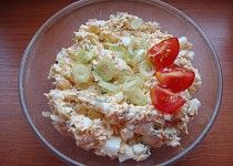 Vajíčková pomazánka Pasta Salad, Grains, Treats, Ethnic Recipes, Food, Crab Pasta Salad, Sweet Like Candy, Goodies, Essen