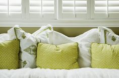 Decorating with Charteuse - 50% Green, 50% Yellow, 100% Fabulous!