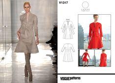 Chado Ralph Rucci Fall 2011 / Vogue V1317