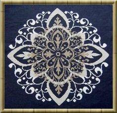 Arabesco - Cross Stitch Pattern  really like Alessandra Adelaide