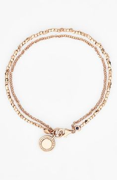 Free shipping and returns on Astley Clarke 'Biography - Cosmos' Beaded Bracelet at Nordstrom.com. Hand-beaded vermeil nuggets pair with a delicate chain to form a lovely, feminine bracelet, each boasting a different symbolic charm sparkling with pretty grey diamonds. Layer them together to create a customized story—your own biography.