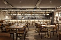 A new modern Italian restaurant and bar, Canto Corvino, has opened in the heart of Spitafields.