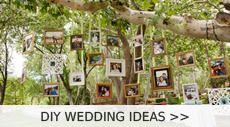 Incorporating some mason jars, lace, ribbon or some twine into your wedding planning will make it a dream rustic themed event. There're many ways to use mason jars on your big day, like centerpieces, hanging decoratio...