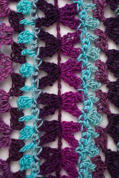 Mile-a-Minute Scarf - I Like Crochet