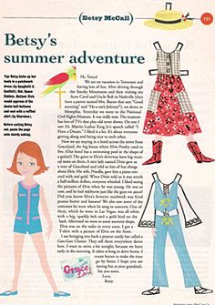 1993 Betsy McCall Paper Doll* For lots of free paper dolls International Paper Doll Society #ArielleGabriel #ArtrA thanks to Pinterest paper doll collectors for sharing *