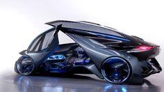 Chevy Shows Off Futuristic, Self-Driving FNR Concept