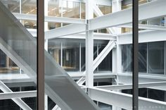 Atrium I. Timmerhuis Rotterdam by OMA. Pic by @svd_fotografie.