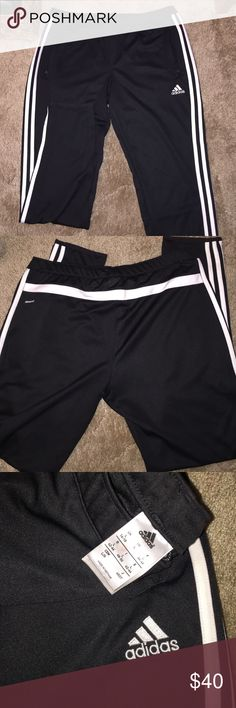 Adidas Climacool Skinng Athletic Pant NWOT. Never worn. Drawstring, zippered pockets, and zippered ankles. adidas Pants Track Pants & Joggers