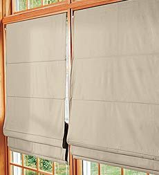 Insulated Roman Shades -- much cheaper than everywhere else