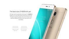 #UMi Super #Smartphone 5.5 Zoll FHD 4GB RAM / 32GB Speicher Android 6.0 4000mAh Akku 4G LTE MTK6755 P10 Octa Core Metall Handy mit 5MP/13MP Kameras Dual SIM und Quick-Charging Fingerabdruckscanner – Gold/Grau