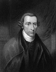 """Portrait of Patrick Henry  (1736-1799)  Revolutionary War orator and statesman. In a speech urging armed resistance against the British, he declared: """"Give me liberty, or give me death!"""""""