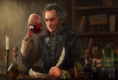 ArtStation - The Witcher- Regis, A Stas