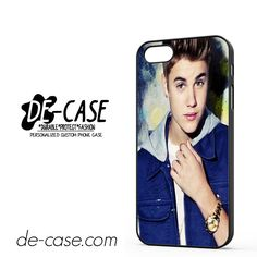 Justin Bieber Blue Jacket DEAL-6050 Apple Phonecase Cover For Iphone 5 / Iphone 5S
