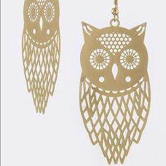 Digital owl ornate earrings Digital owl ornate earrings great for spring summer beach cruise festival concert coachella wear Jewelry Earrings