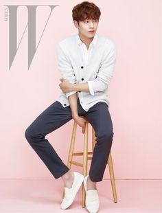 "Seo Kang Jun Shows Off His Boyfriend Look with ""W Korea"" | Koogle TV"